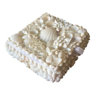 Vintage Shell Covered Box