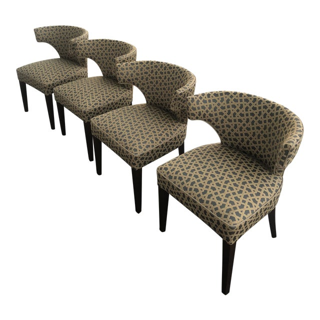 1950s Accent Chairs.1950s Vintage Thomas O Brien Accent Chairs Set Of 4