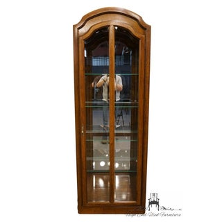 """High End Country French 28""""Illuminated Display Curio Cabinet Preview"""