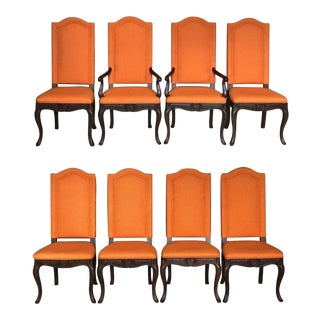 20th Century Traditional Baker Furniture Dining Chairs - Set of 8 For Sale