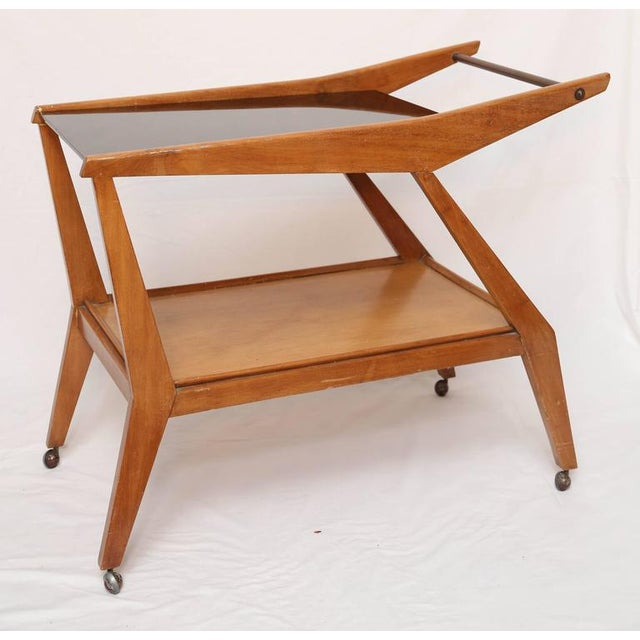 Tilly Stickell Mid-Century Modern Bar Cart, 1950s For Sale - Image 9 of 9