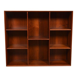 Solid Teak Danish Modern Bookcases by Peter Hvidt For Sale