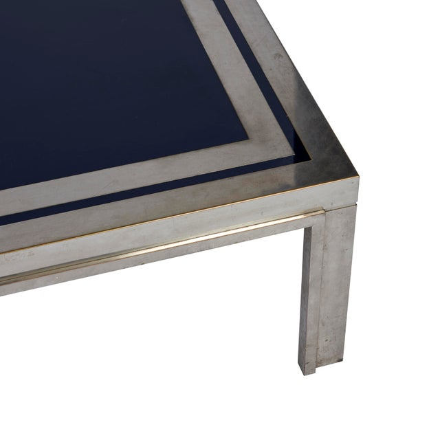 Schumacher 1950's French Steel Coffee Table For Sale - Image 4 of 7