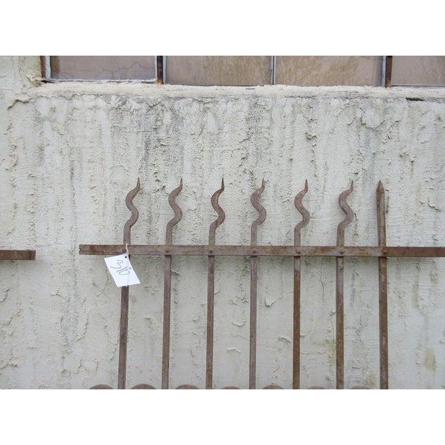 Antique Victorian Garden Fence Salvage - Image 3 of 6