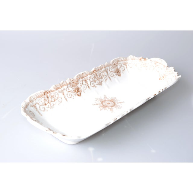 Art Nouveau LS&S Carlsbad Porcelain Tray For Sale In Miami - Image 6 of 6