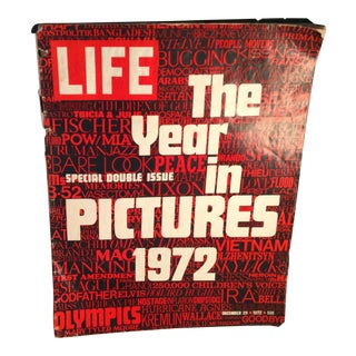 Life Magazine 'The Year in Pictures 1972' Double Issue Book For Sale