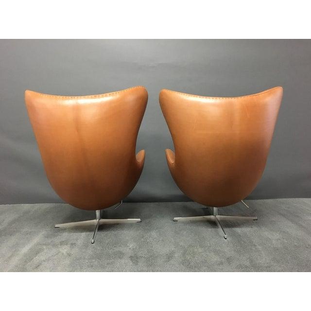 Arne Jacobsen for Fritz Hansen Egg Chairs - A Pair - Image 6 of 9