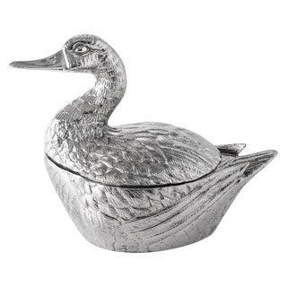 Italian Mauro Manetti Duck Ice Bucket C.1960
