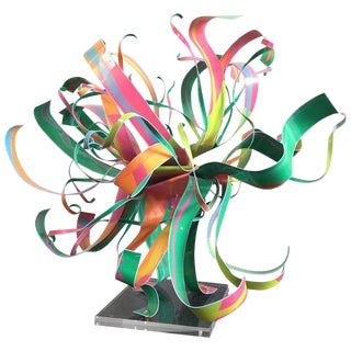 Dorothy Gillespie Starburst Metal Modern Art Sculpture