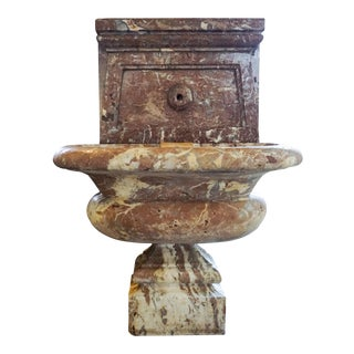 Late 19th Century Italian Marble Wall Fountain, Circa 1870 For Sale