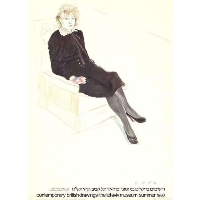 "David Hockney ""Celia, Paris"" 1980 Poster For Sale"