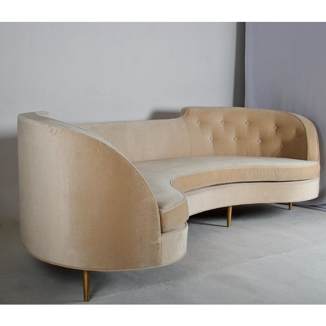 1950s Oasis Sofa by Wormley for Dunbar For Sale - Image 5 of 13