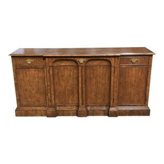 Art Deco Walnut Side Board byBaker Furniture For Sale