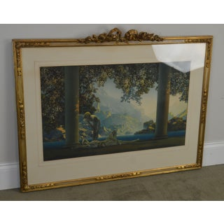 """Maxfield Parrish """"Daybreak Vintage Framed Print or Lithograph Preview"""