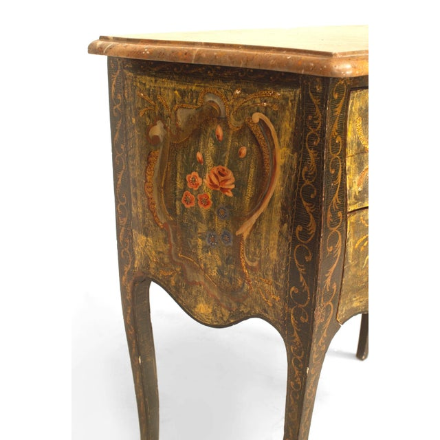 Italian Venetian '19th-20th Century' Commodes - a Pair For Sale - Image 4 of 6