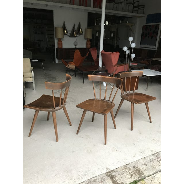 Set of three Paul McCobb Planner Group dining chairs. All in good vintage condition, with general wear but show nicely....
