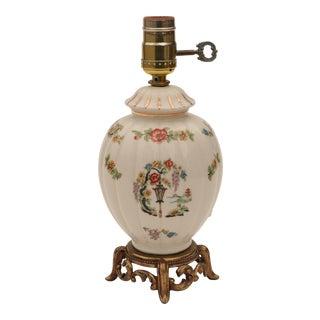 Asian Chintz Table Lamp