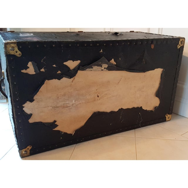 Vintage Extra Large Trunk - Image 10 of 11