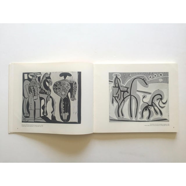 """ Picasso Linocuts 1958 - 1963 "" Rare Vintage 1968 1st Edition Lithograph Print Collector's Exhibition Art Book For Sale In Kansas City - Image 6 of 13"