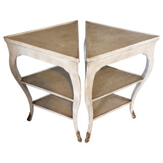 Nancy Corzine End Tables - A Pair For Sale