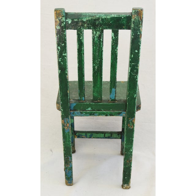 Early 1900s Primitive Country Child's Chair - Image 6 of 9