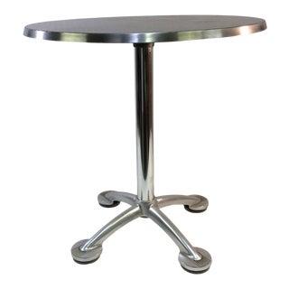 Modern Pensi Aluminum Cafe Table For Sale