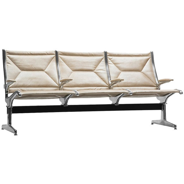 Eames for Herman Miller Tandem Sling Airport Bench For Sale