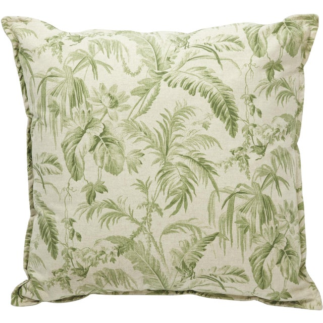 Palm Leaf Pillow II - Image 1 of 2