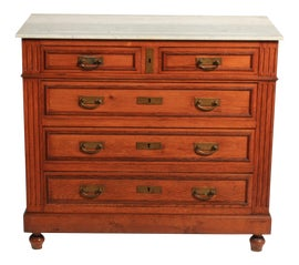 Image of Marble Chests of Drawers