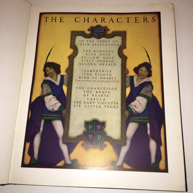 1st Ed 1925 the Knave of Hearts Maxfield Parrish For Sale In New York - Image 6 of 11