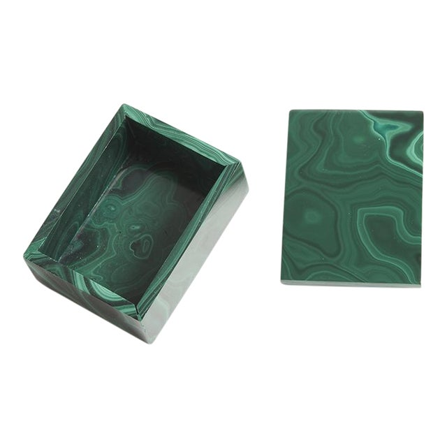 Malachite Box - Image 1 of 4