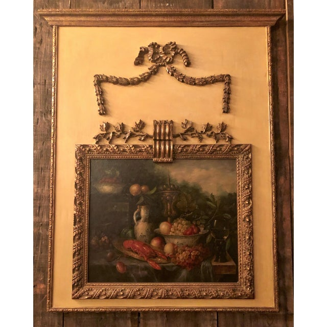 Antique French Still Life Painting in Panel, Circa 1870-1890. For Sale In New Orleans - Image 6 of 6