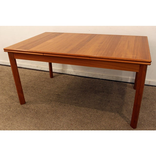 Mid-Century Danish Modern BRDR Furbo Extendable Teak Dining Table #2 Offered is a Mid-Century Danish Modern BRDR Furbo...