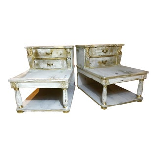 Antique Maison Jensen French Neoclassical Side Stands - A Pair