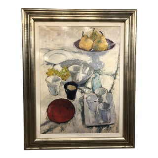 Abstract Large Still Life Painting For Sale