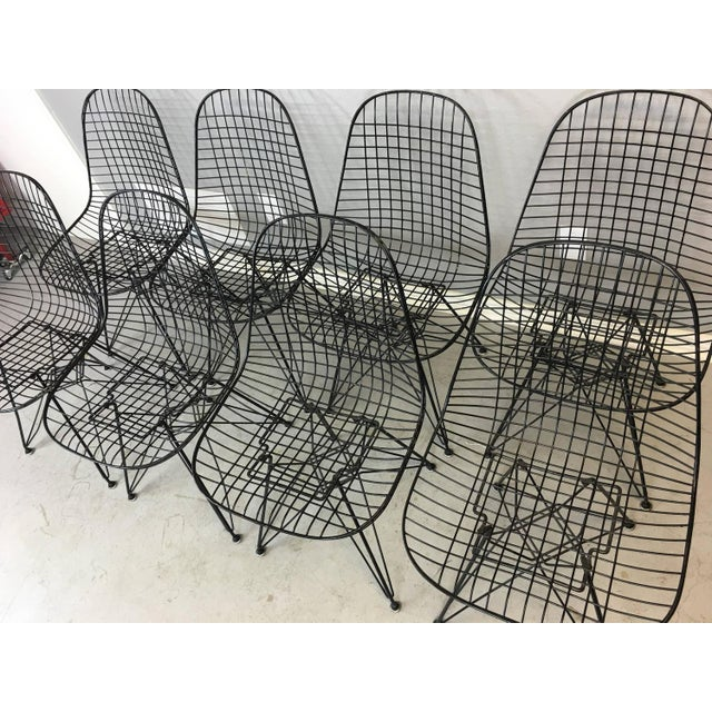 Charles and Ray Eames Dkr5 Eiffel Base Chairs - Four Available - Image 4 of 5