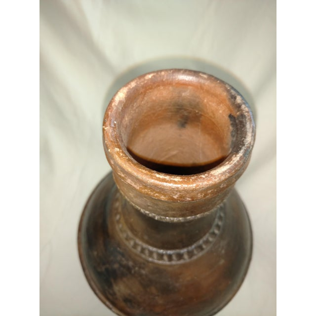 1940s Anglo Indian Terra Cotta Jug For Sale - Image 4 of 6