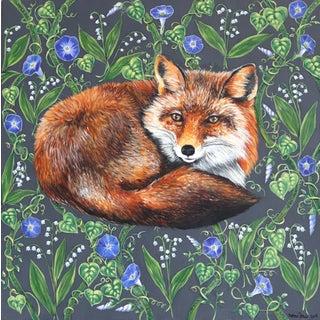 """Red Fox"" Original Artwork by Naomi Jones For Sale"