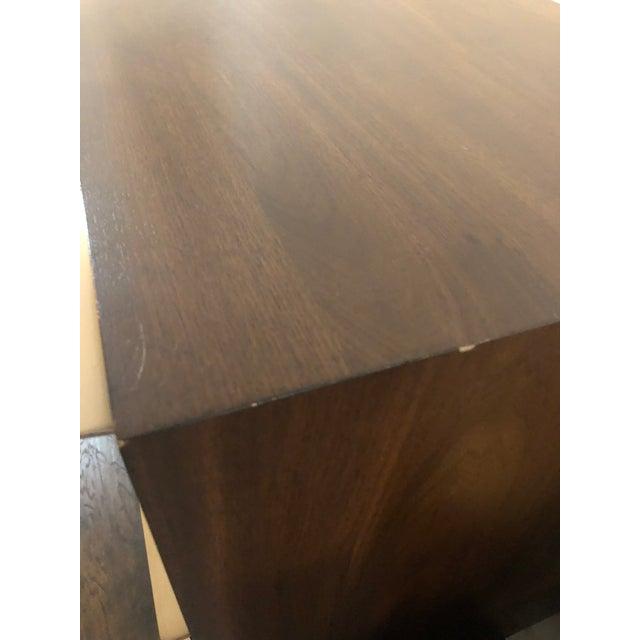 2010s West Elm Nouveau Walnut Mid Century 6 Drawer Dresser For Sale - Image 5 of 9