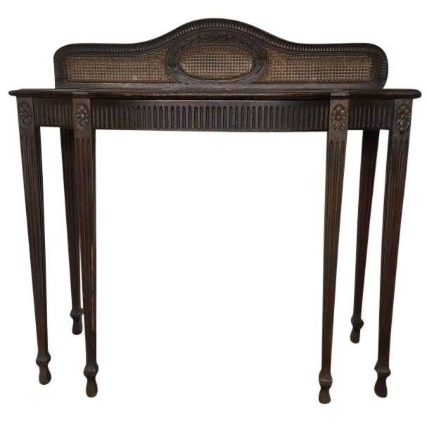 Vintage Elegant Wooden Desk - Image 1 of 5