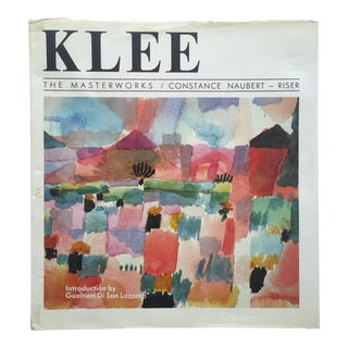 """Paul Klee """" the Masterworks """" Rare Vintage 1988 1st Edition Collector's Hardcover Modern Art Book For Sale"""