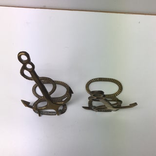 Brass Anchor & Rope Bookends Preview