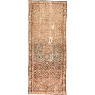 "Apadana-Antique Persian Distressed Rug, 6'2"" X 15'4"" For Sale"