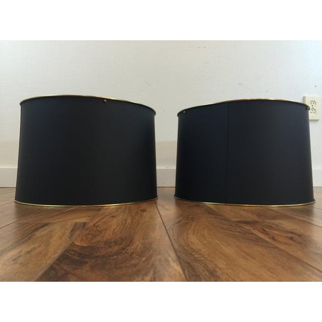 Bouillotte lamp shades pair chairish bouillotte lamp shades pair image 4 of 8 aloadofball Images