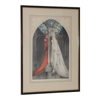"Louis Icart ""Faust"" Etching W/ Aquatint C.1928 For Sale"