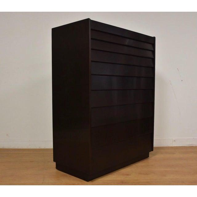 Mid-Century Modern Edward Wormley for Dunbar Ebonized Dresser For Sale - Image 3 of 11