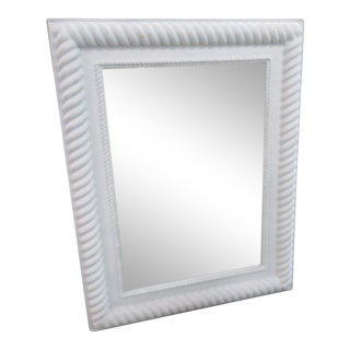 Maritime Composite Faux Rope Mirror