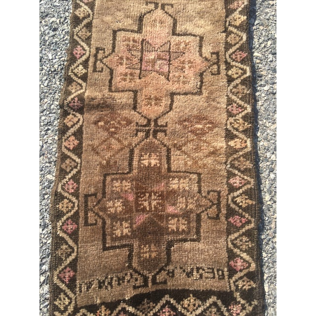 "Vintage Anatolian Turkish Rug - 1'7"" X 2'10"" - Image 3 of 9"