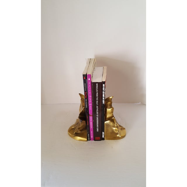 Support your Books with a Touch of Class and Some Brass! These Bookends will Enhance your Office, Bookshelves, Dorm Room...