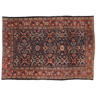 Antique Persian Mahal Rug - 8'7 x 12'8 For Sale